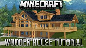 minecraft epic wooden house tutorial part 1 1 8 1 january 2016 you