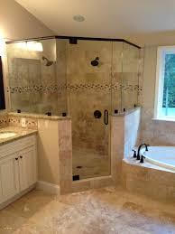 master bathroom corner showers. Garden Tub \u2013 Stylish Master Bathroom Corner Shower Ideas Lovely Frameless Glass Showers