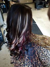Mocha Brown With Blonde And Red