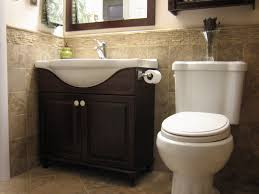 traditional half bathroom ideas. Perfect Traditional Medicine Bathroom Corner Design Vanity Painted Brown With Single Sink  And Crome Faucets Half Bath Designs Small Inside Traditional Bathroom Ideas A