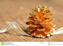Pine Cone Christmas Decorations Pine Cones Christmas Decoration Stock Photo Image 62235509