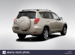 2006 Toyota RAV4 Limited in Beige - Rear angle view Stock Photo ...