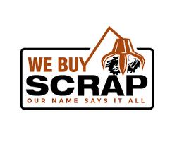 Download the scrap it up font by vanessa bays. We Buy Scrap Logo Design
