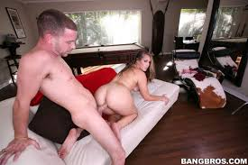 Nikki Stone hot pool shark gets screwed on the couch BangBros.