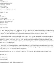 Successful Cover Letter Examples Best Short Cover Letter Examples
