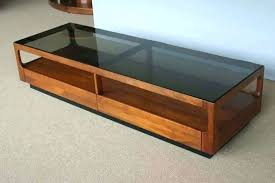 smoked glass coffee table lane glass top coffee table smoked glass coffee table walnut and smoked