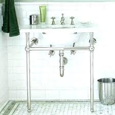 sink with metal legs. Brilliant Legs Bathroom Sink Legs Metal Console Co  Double  With  In Sink With Metal Legs I