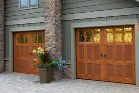 side hinged traditional garage doors