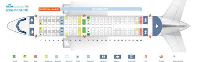 Klm Plane Seating Chart Klm Fleet Boeing 737 700 Details And Pictures