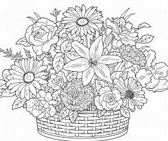 Small Picture Flower Coloring Pages For Adults Stockphotos Flowers Coloring