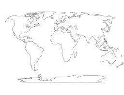 Coloring World Map Coloring Page Mandala Of Countries The Pages