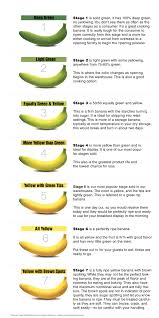 30 Complete Banana Chart