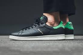 adidas originals stan smith. \u201ccore black\u201d \u0026 green unite in new adidas originals stan smith colorway