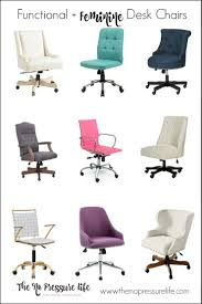 feminine office furniture. 22 Functional + Feminine Desk Chairs (And How To Choose One) Office Furniture