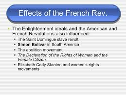 french revolution 77 effects of the french