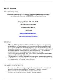 mcse resume samples mcse resume 120713050124 phpapp02 thumbnail 4 jpg cb 1342155705