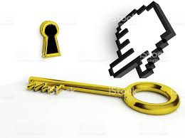 gold house key. Coin Bank, Entrance Sign, Gold, House Key, Key Gold