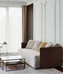 Featuring a shiny brass toe kick and customizable velvet upholstery. Sofa Beds Sofa Bed Eden By Flexform