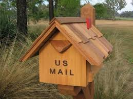 Image Taihan Co Pinterest Handcrafted Cedar Wood Mailboxescarvedcustom Mailboxes