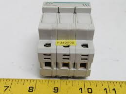 hager l503 fuse carrier holder 3 pole 10 3x38mm fuse 500v hager circuit breaker at Hager Fuse Box