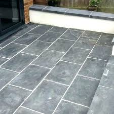 remove haze from tile how to remove grout haze patio slate tiles with grout haze before