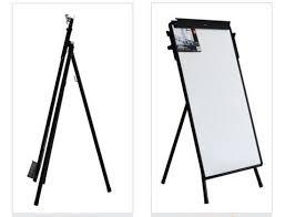 Deli E7892 Adjustable Tripod Flip Chart Easel 60x90cm