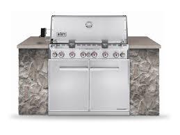 built in grills