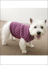 Dog Sweater Crochet Pattern Magnificent Crochet Pet Patterns Beaded Dog Sweater