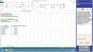Loan Format In Excel Solved H E02h3jobfairattendance Microsoft Excel Review Vi