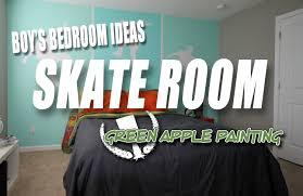 Skater Bedroom Skate Theme Boys Room Boys Bedroom Ideas Youtube