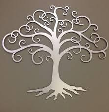 tree of life metal wall art decor sculpture 31 x 29