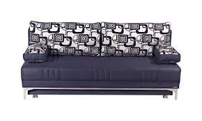 europa vintage black queen size sofa bed