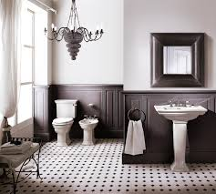 Kronleuchter Im Badezimmer Fliesen Eklektisch Bad