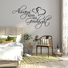 Wall Decal Quotes Magnificent Bedroom Wall Decor Stickers Camwellsco