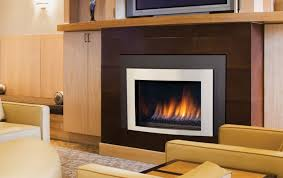 gas fireplace insert simple