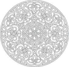Mandala Design Coloring Pages Free Design Coloring Pages Random