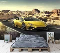 Lamborghini Wall Mural Super Car ...