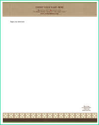 Easy Word Legal Template For Free Sample Letterhead Template Word
