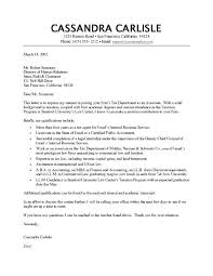 Accounts Assistant Cover Letters Accounting Cover Letter Examples Digiart