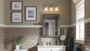 bathroom above mirror lighting. threelight vanity light above a bathroom mirror lighting i