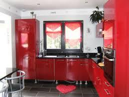 Deco Cuisine Rouge Et Noir