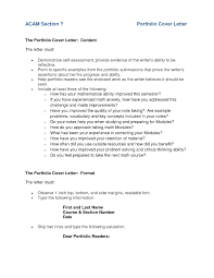 cover letter example for portfolio english portfolio cover letter examples images letter samples format