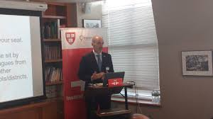 """Today we are hosting the """"Inaugural... - Instituto Cervantes at Harvard  University - FAS   Facebook"""