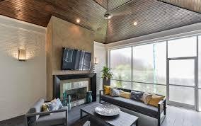 modern patio furniture sunroom transitional with whitewash brick