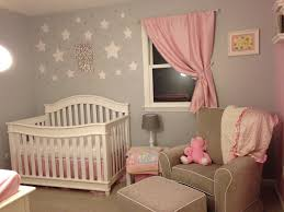Pink and Grey Starry Nursery - Project Nursery