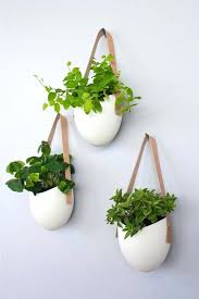 wall plant pots ceramic wall planters by light ladder wall plant pot holders uk