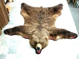 fake animal skin rugs with head bear skin rug faux bear skin rug s with head fake animal skin rugs with head bear fur