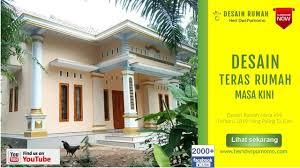 Bentuk rumah sederhana di kampung. Rumah Sederhana Model Teras Rumah Masa Kini Content