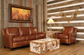 Rustic Leather Living Room Furniture Western Couches Living Room Furniture Living Room Design Ideas