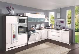 Küchen L Form Weiß